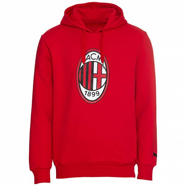 AC Mailand PUMA Logo Hoodie Herren Kapuzen Sweatshirt 756847-01