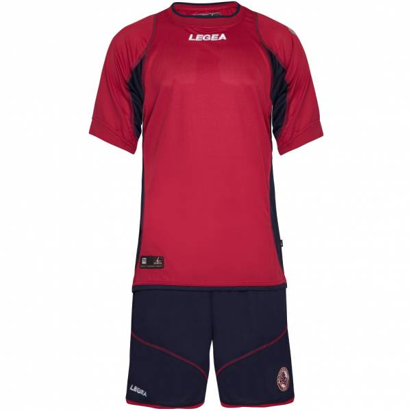 AS Livorno Calcio Legea Herren Kurzam Trikot Set