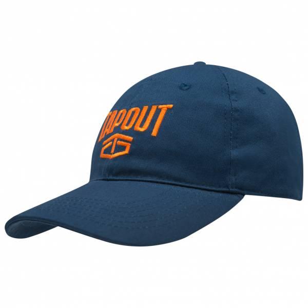 Tapout MMA Logo Baseball Kappe 399142 Navy