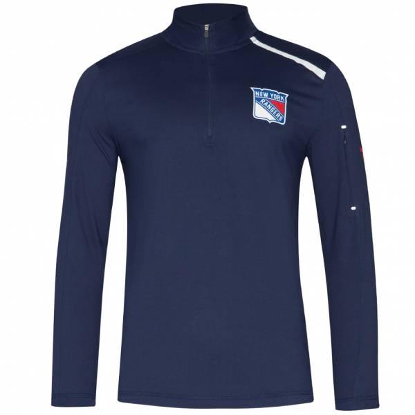 New York Rangers Fanatics 1/4-Zip Herren Trainings Sweatshirt MA2745062N45U