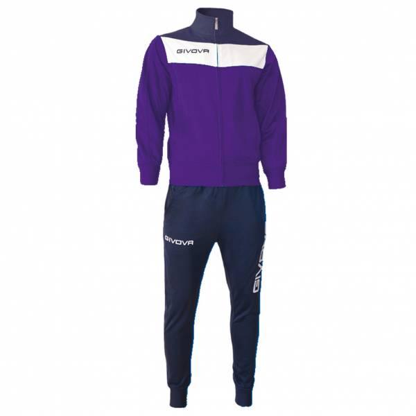 Givova Tuta Campo Trainingsanzug violett/navy