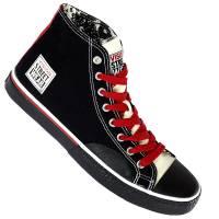 Vision Street Wear Schuhe Canvas Hi black/red