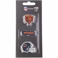 Chicago Bears NFL Metall Pin Anstecker 3er-Set BDNFL3PKCB