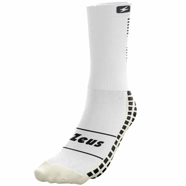 Zeus non-slip professional training socks white