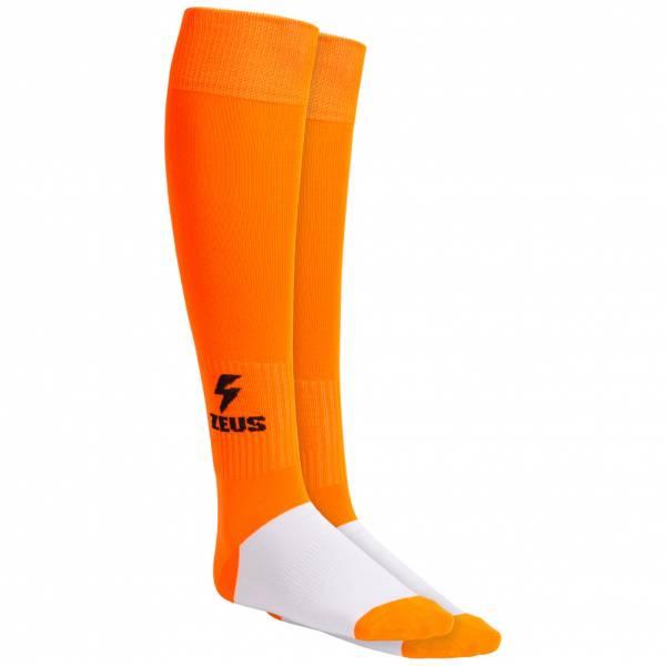 Zeus Calza Energy Calzettoni da calcio Neon Orange