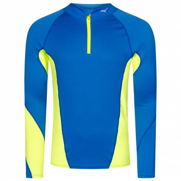Mizuno Mid Weight Crew Virtuele bodytop met halve rits heren 73CF340-23