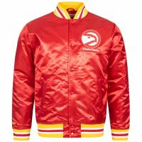 Mitchell & Ness Atlanta Hawks Herren Satin Jacke MN-NBA-6390-ATLHAW-RED