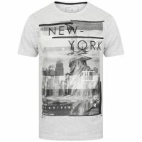 DNM Dissident Liberty Herren T-Shirt 1C12398 Heather Grey