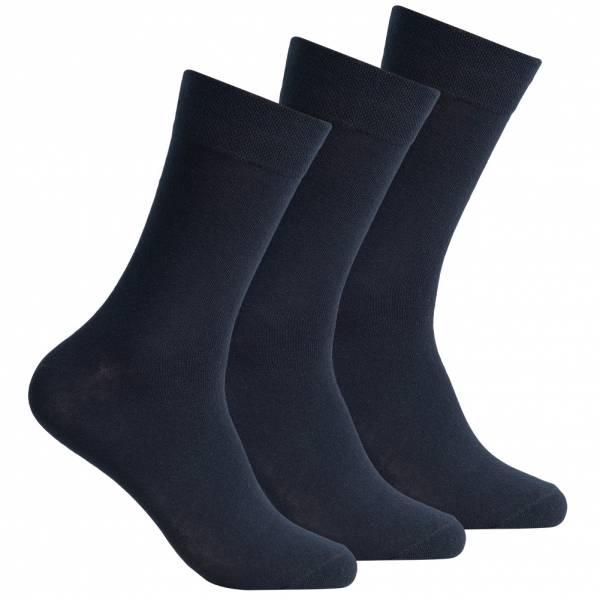 SportSpar Herren Komfort Socken 3 Paar 174228 Dark Navy