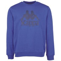 Kappa Herren Sweatshirt Sertum Pullover 703797-805 Kingsblue