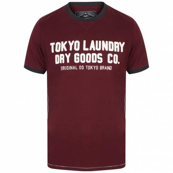 Tokyo Laundry Williamburg Hommes Logo T-shirt 1C11474 Dégustation de vin