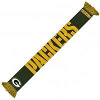 Green Bay Packers NFL Scarf Wordmark Fan Schal SVNF14WMGPAM
