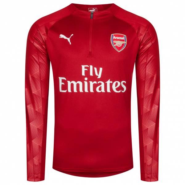 FC Arsenal London PUMA 1/4 Zip Herren Training Sweatshirt 753334-03