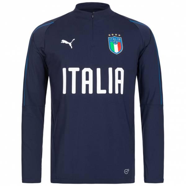 Italien PUMA Herren 1/4-Zip Trainingsjacke 752318-10