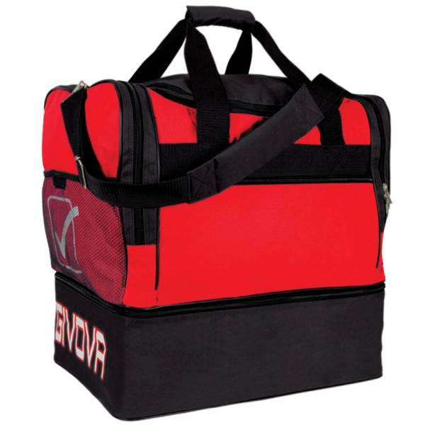 Givova Borsa Football Bag red / black