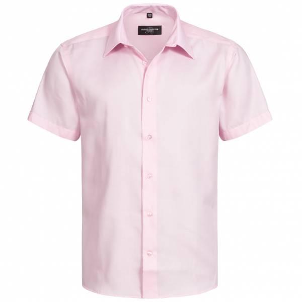RUSSELL Short Sleeve Tailored Non-iron Herren Hemd 0R959M0-Classic-Pink