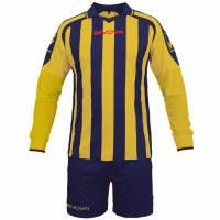 Givova Kit Rumor Fußball Set Langarm Trikot + Short KITC25-0407