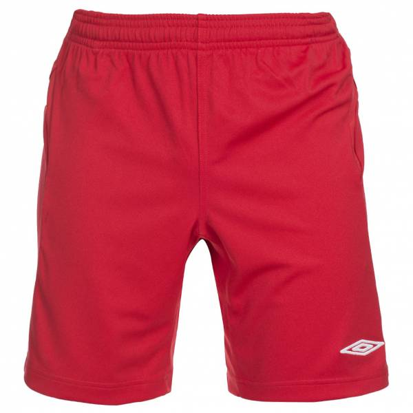 Umbro Fußball Short Premier rot/weiß