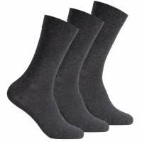 SportSpar Herren Komfort Socken 3 Paar 174228 Anthracite