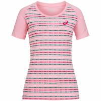 ASICS Damen Running Shirt Striped Tee 130810-0296