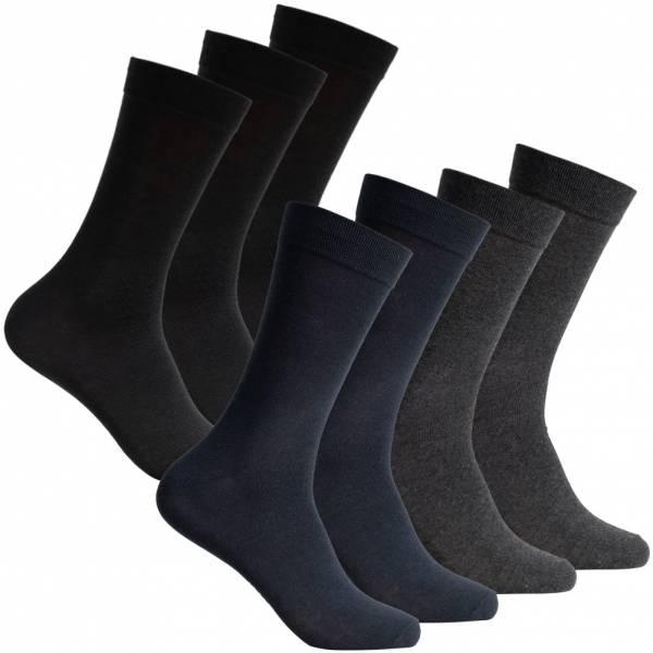 SportSpar Herren Business Socken 7 Paar 220201 Mix
