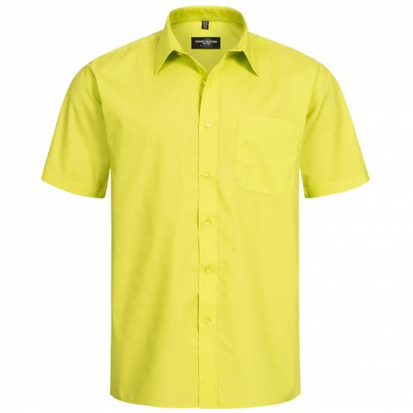 RUSSELL Short Sleeve Poly-Cotton Poplin Herren Hemd 0R935M0-Lime